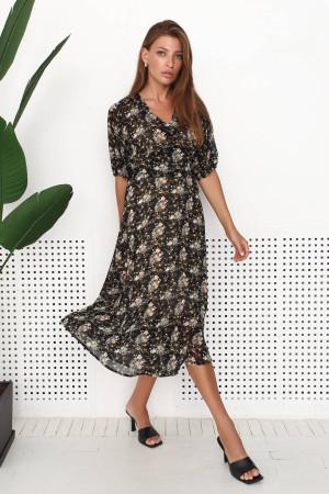 Платье «Марлон» черного цвета