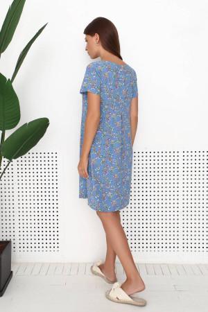 Сукня «Квінн» синього кольору