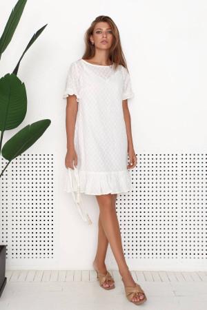 Сукня «Анхель» молочного кольору