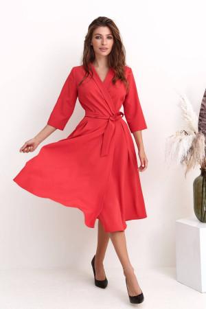 Платье «Дикси» красного цвета