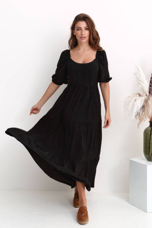 Сукня «Герті» чорного кольору