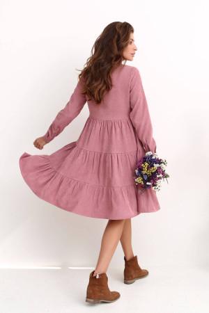 Платье «Меган» цвета пудры