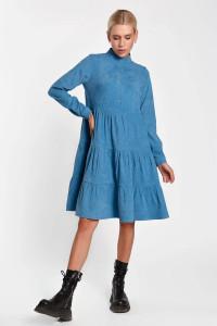 Платье «Меган» голубого цвета