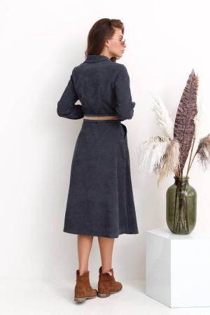 Сукня «Сабіна» сірого кольору