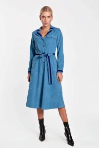 Платье «Сабина» голубого цвета
