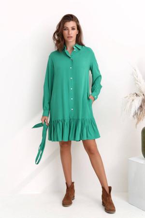 Сукня «Труді» зеленого кольору