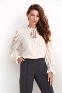 Блуза «Таміла» бежевого кольору