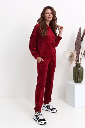Спортивний костюм «Аріка» кольору бордо