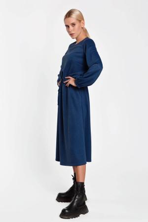 Платье «Меланья» синего цвета