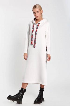 Платье «Дафна» молочного цвета