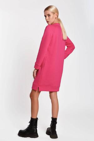 Платье «Дамина» малинового цвета