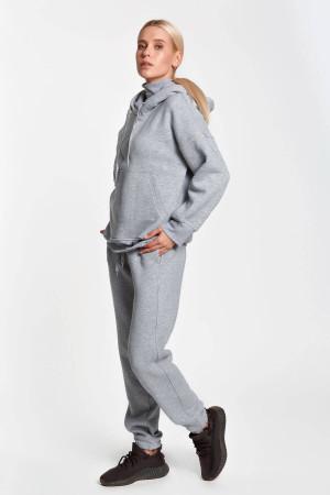 Спортивный костюм «Дезире» цвета серый меланж