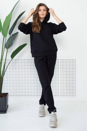 Спортивный костюм «Дезире» черного цвета