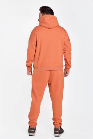 Спортивный костюм «Димер» терракотового цвета