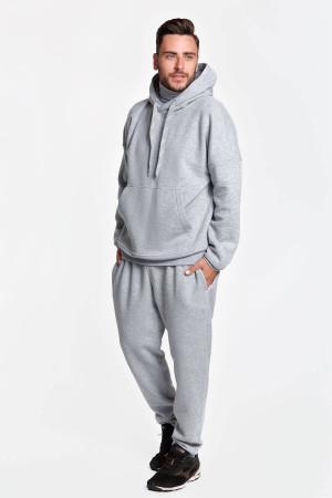Спортивный костюм «Димер» цвета серый меланж