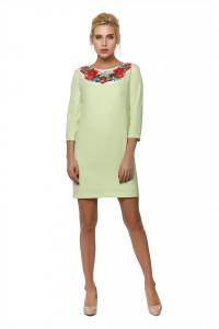 Сукня «Духмяний букет» світло-зеленого кольору
