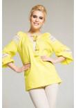 Блуза «Форція» жовтого кольору