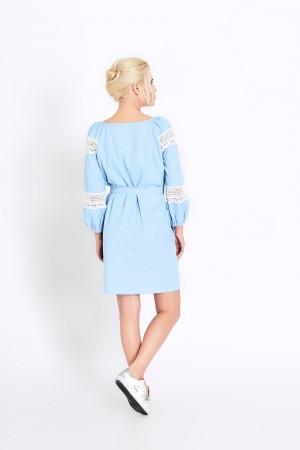 Сукня «Поліна» блакитна