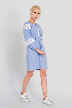 Сукня «Поліна» блакитного кольору