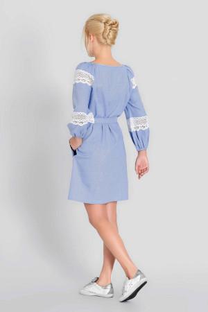 Платье «Полина» голубого цвета