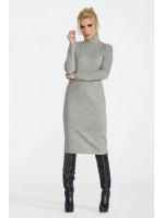 Платье «Меланж» серого цвета