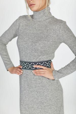 Сукня «Меланж» сірого кольору