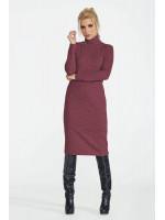 Сукня «Меланж» бордового кольору