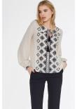 Блуза «Вар'яте» бежевого кольору