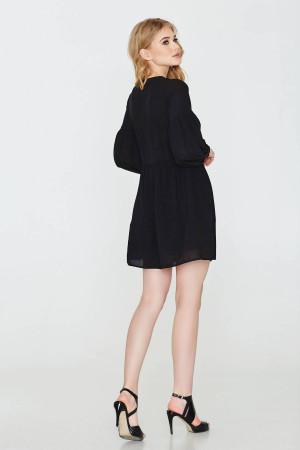 Платье «Млада» черного цвета