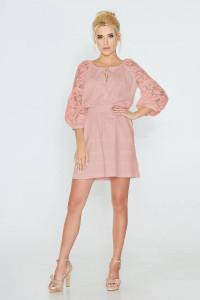 Сукня «Катря» рожевого кольору