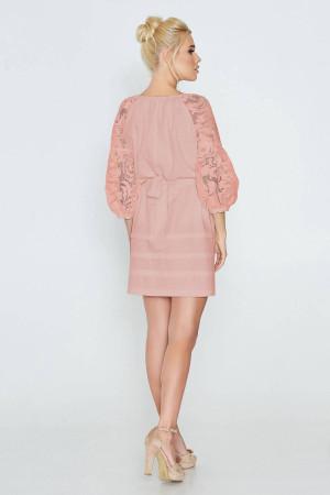 Платье «Катря» розового цвета