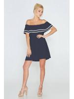 Сукня «Євдокія» синього кольору