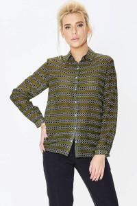 Сорочка «Магдаленка» зеленого кольору
