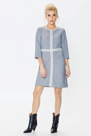 Платье «Агнешка» серого цвета