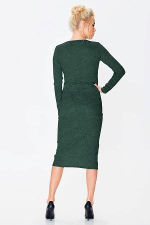 Платье «Карамболь» зеленого цвета