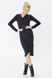 Платье «Карамболь» черного цвета