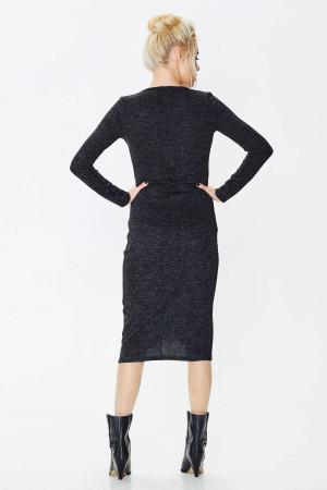 Сукня «Карамболь» чорного кольору