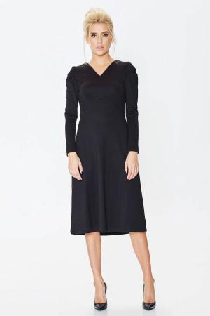 Платье «Фекла» черного цвета