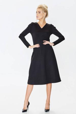 Сукня «Фекла» чорного кольору