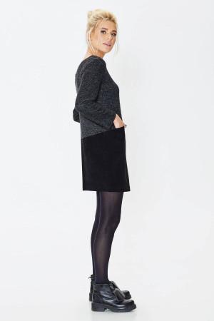 Платье «Стеша» черного цвета