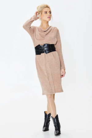 Платье «Явдоха» бежевого цвета