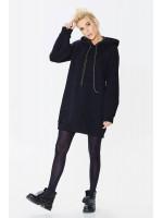 Платье «Плай» черного цвета