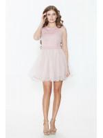 Платье «Арамея» розового цвета