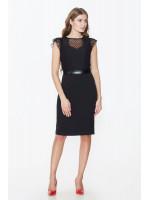 Платье «Галия» черного цвета