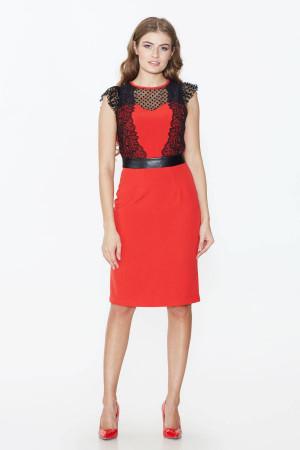 Сукня «Галія» червоного кольору