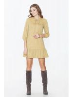 Сукня «Веста» гірчичного кольору