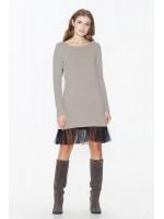 Платье «Мокко» бежевого цвета