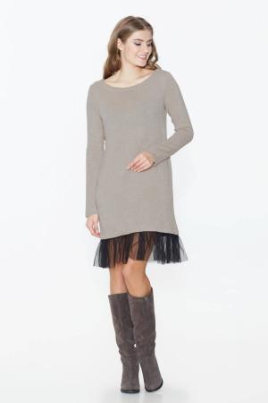 Сукня «Мокко» бежевого кольору