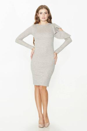 Платье «Марджана» бежевого цвета