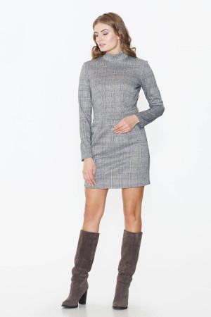 Сукня «Перл» сірого кольору